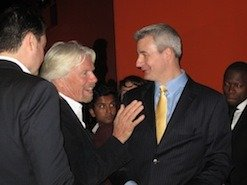 Chris Johnson the Grant Funding Expert with Richard Branson