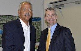 Chris Johnson the Grant Funding Expert with Stedman Graham, partner of Oprah Winfrey