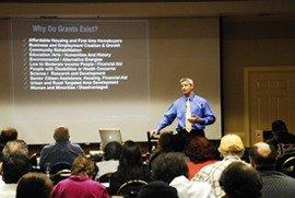 Chris Johnson the Grant Funding Expert Speaking